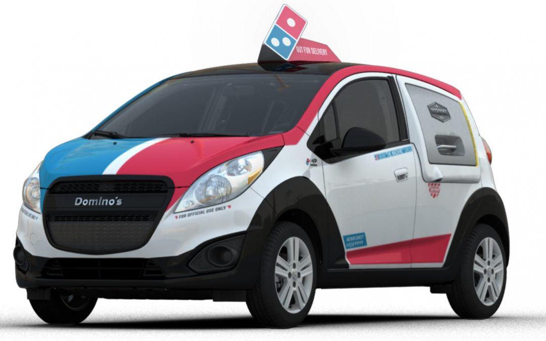 Domino's partners with Roush and GM to create specialized DXP delivery car