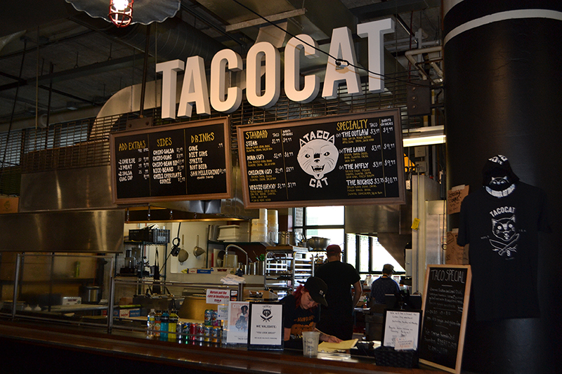 Whether it's coming or going, Taco Cat stands for really good food for drunk gourmets