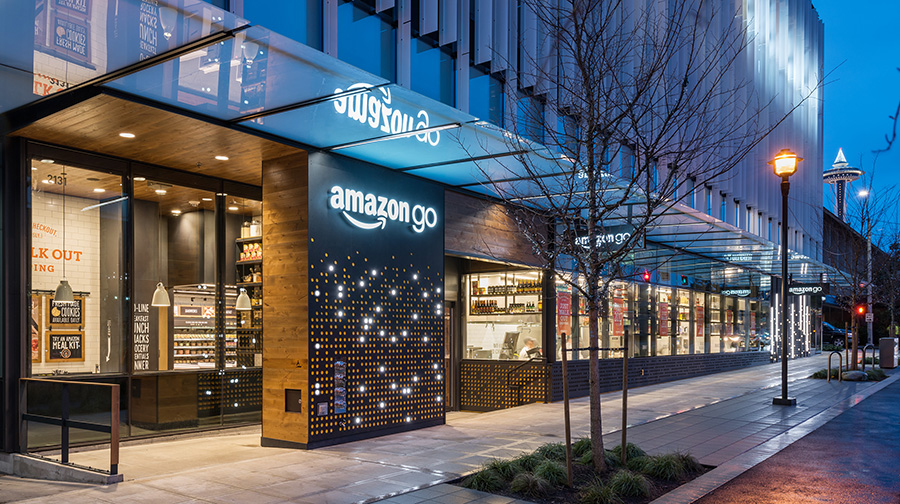 Amazon's High-Tech Grocery Foray