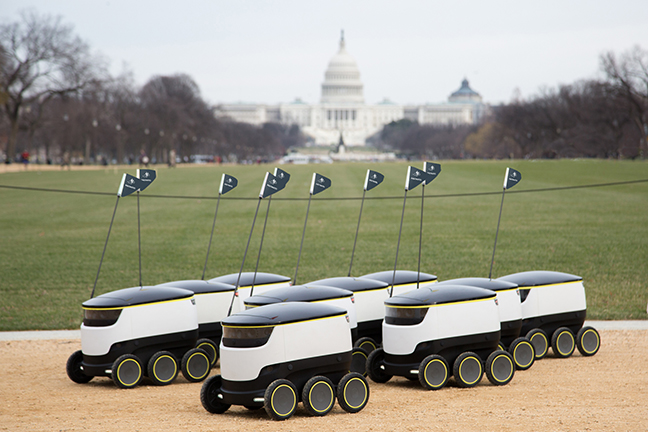 Starship Delivery Bots Go to College