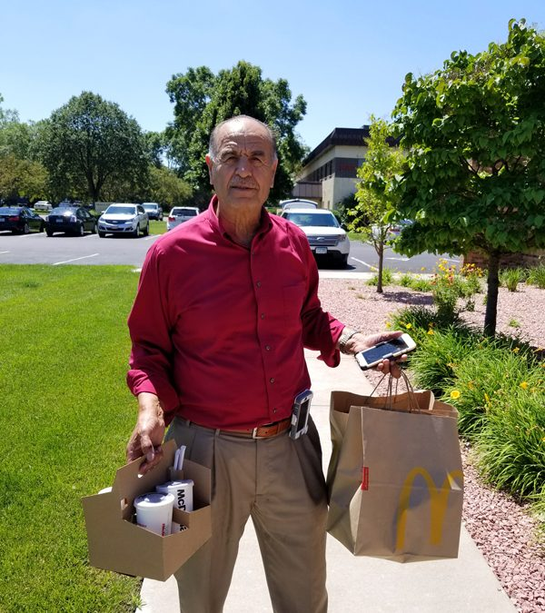 Ordering McDonald's Delivery with UberEATS