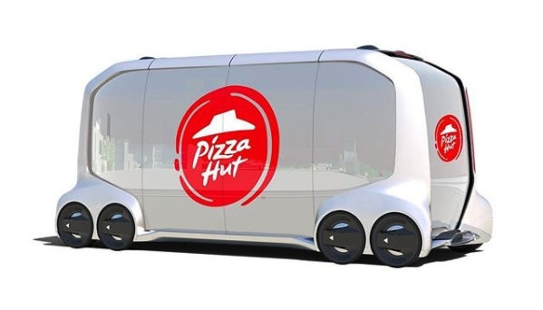 Pizza Hut Developing Fully Autonomous Delivery Vehicles with Toyota