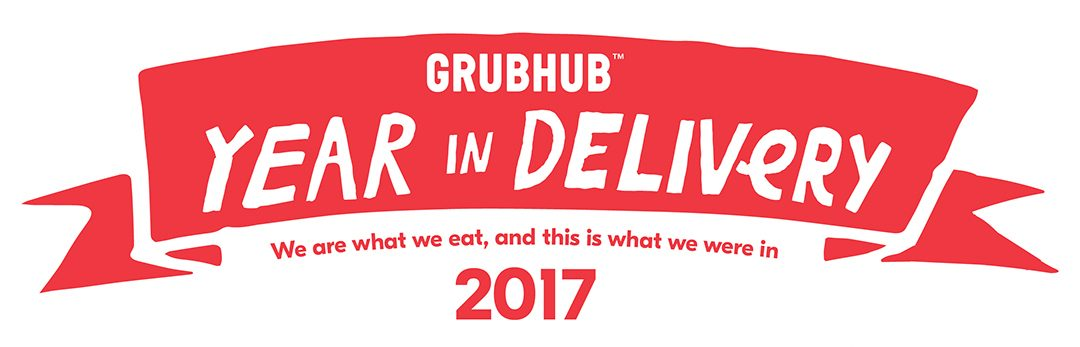 Grubhub ranks what we ate in 2017