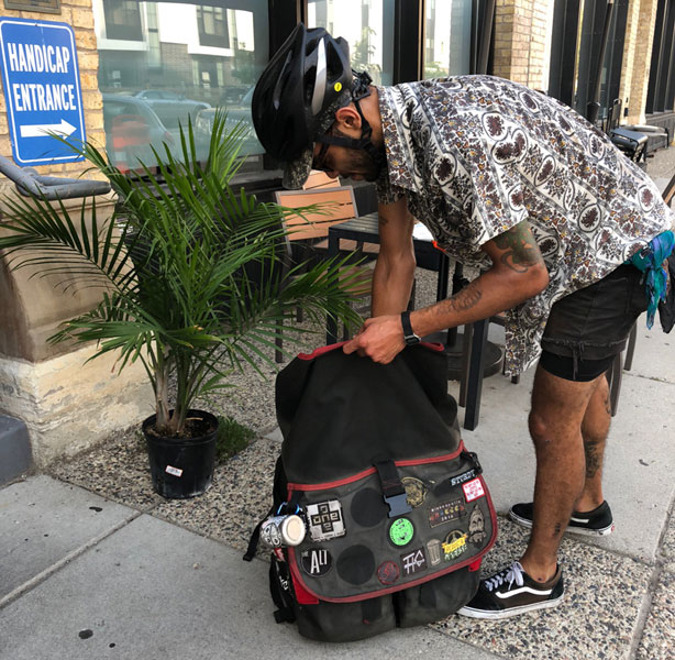 The Ins and Outs of Bike Delivery Service and Trash Messenger Bag