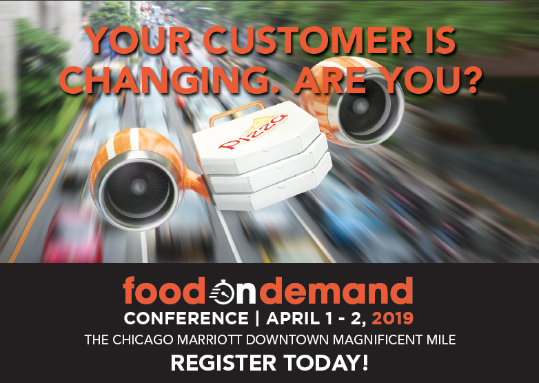 Gearing up for 2019 Food On Demand Conference