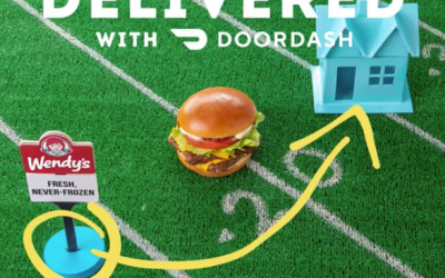McDonald's, Wendy's Check Sizes Doubling with Delivery