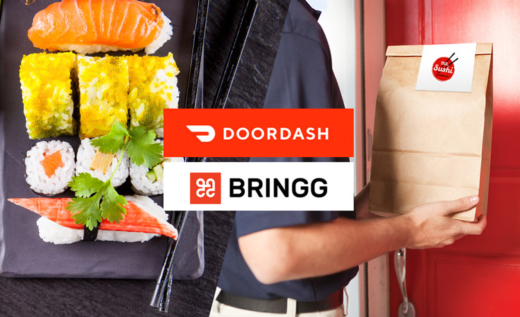 Bringg Links Arms with DoorDash