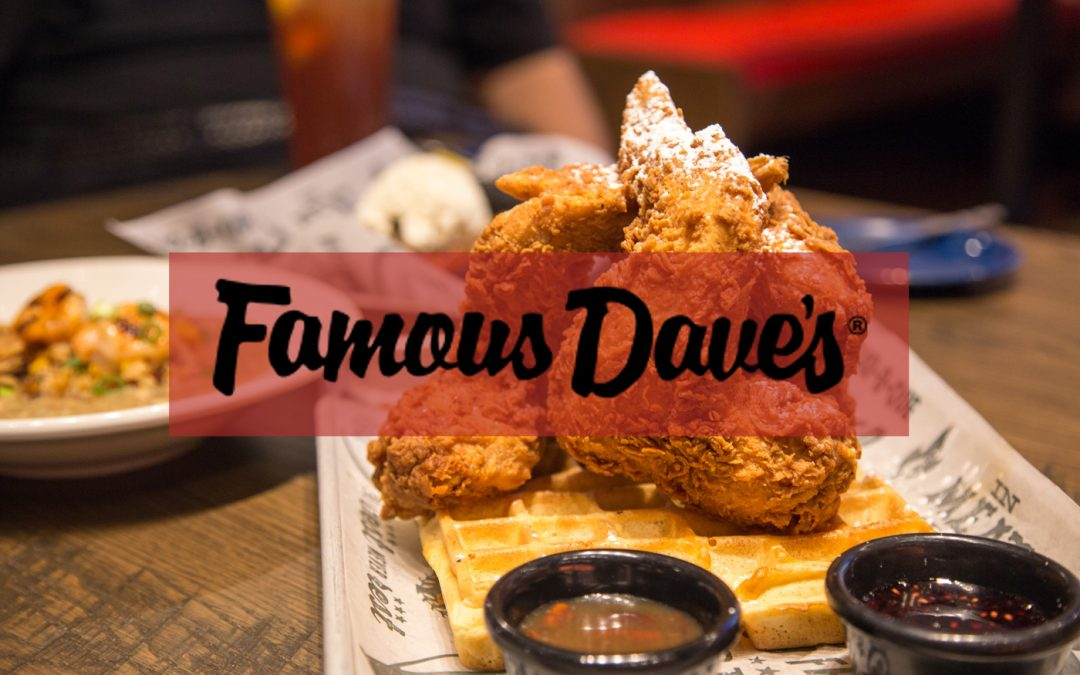 Famous Dave's Charts two Paths to Delivery