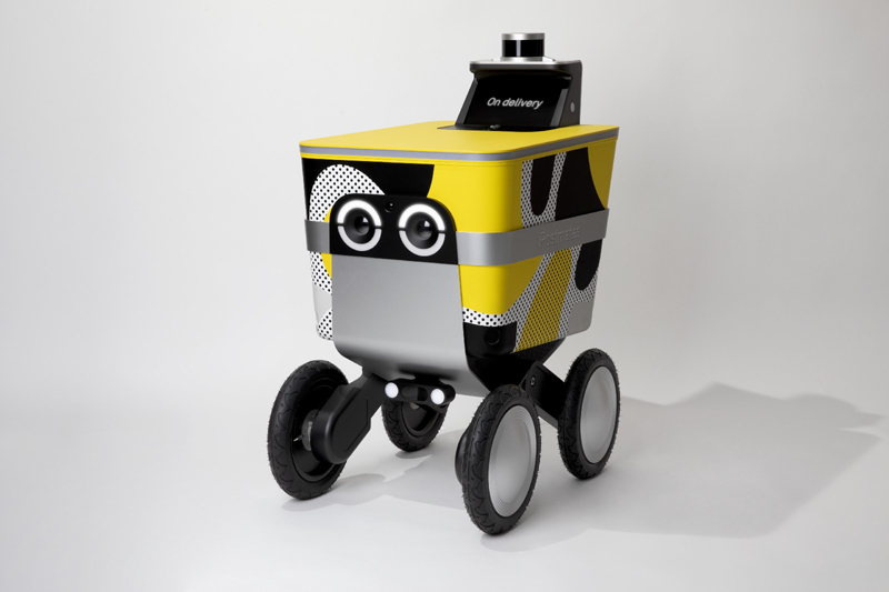 Postmates Introduces 'Serve,' Its Robotic Delivery Rover