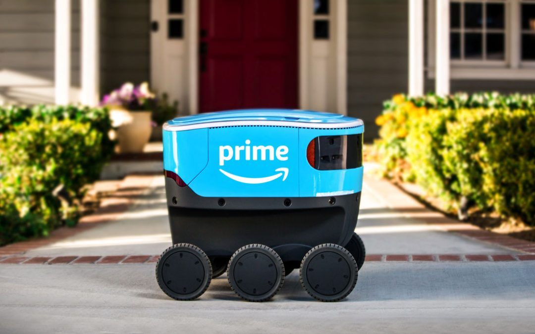Amazon Takes to the Sidewalks with Robotic Test