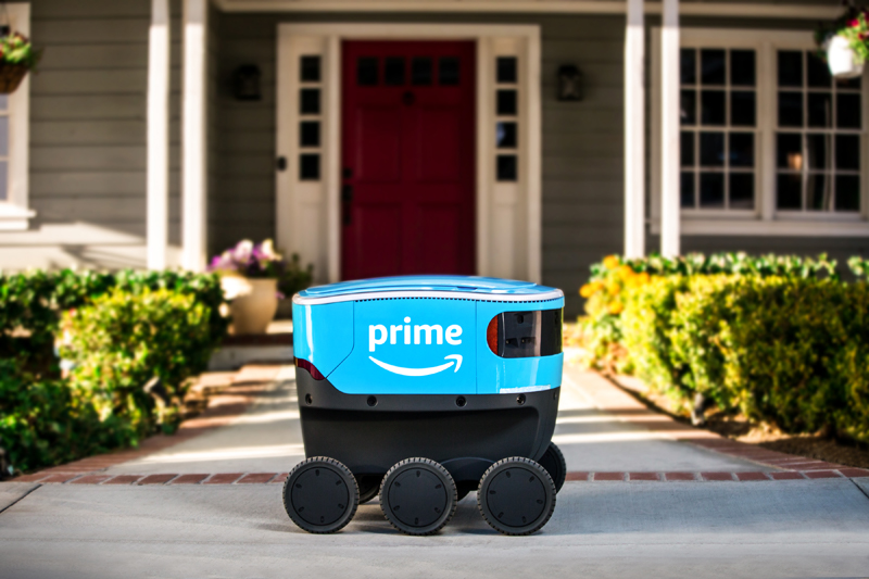 Amazon Expands Delivery Robot Program in Helsinki