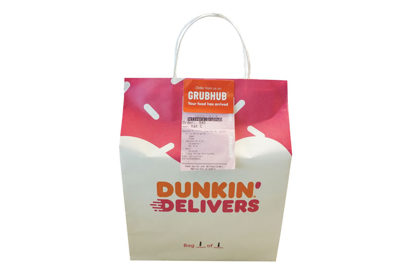 Dunkin's Delivery Pro on Catering, Grubhub Launch