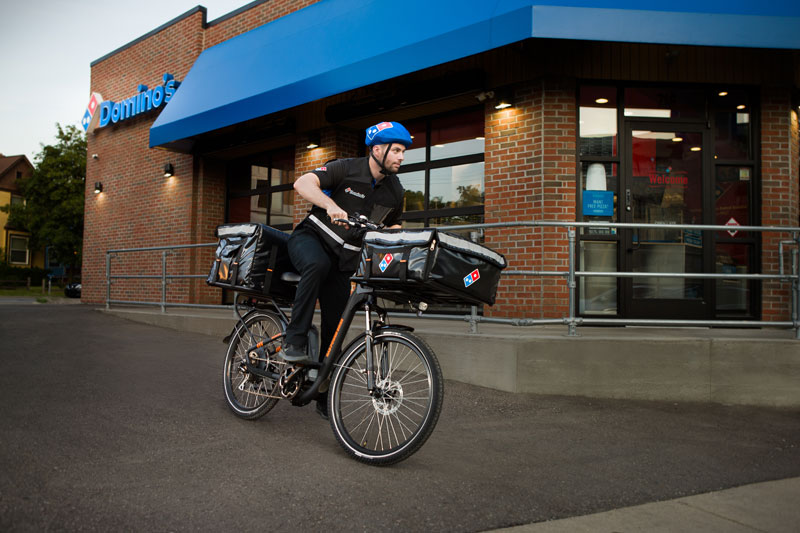 Domino's to Deliver with Rad Power E-Bikes
