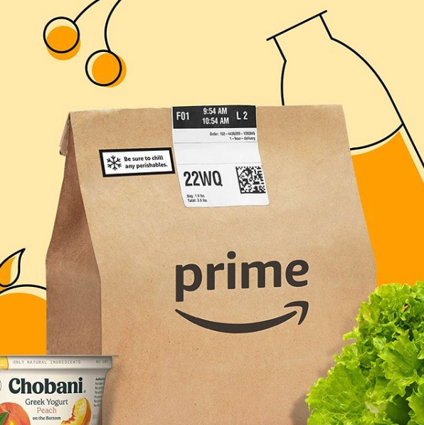 Amazon Starts Free Grocery Deliveries for Primers