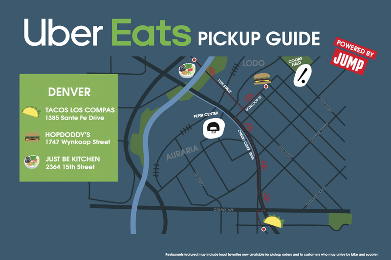 Uber Eats Launches E-Bike Food-Hopping