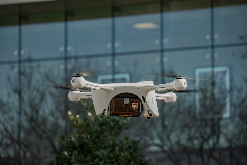 UPS Gets Landmark Aerial Drone Approval
