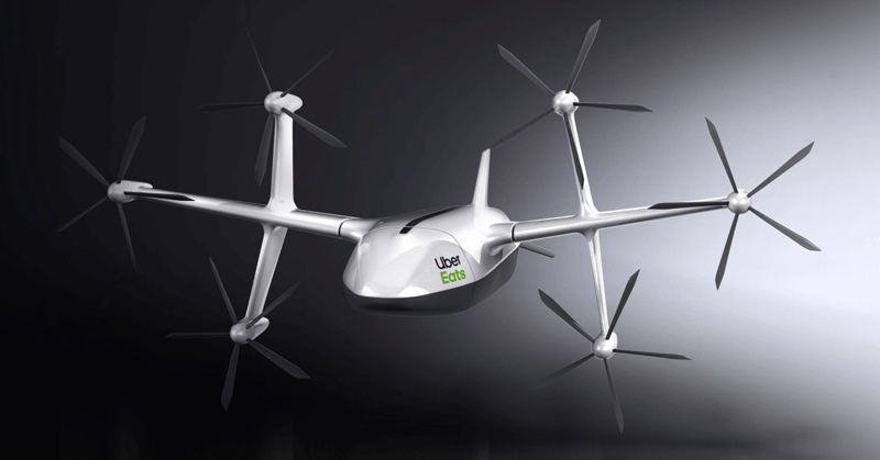 Uber Paints Picture of Future Drone-Driver Hybrid Model
