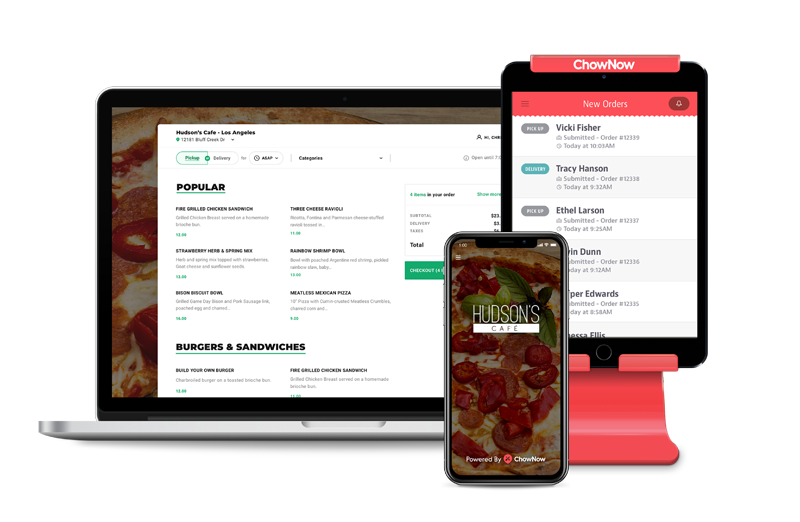ChowNow Moves Delivery Customers In-House