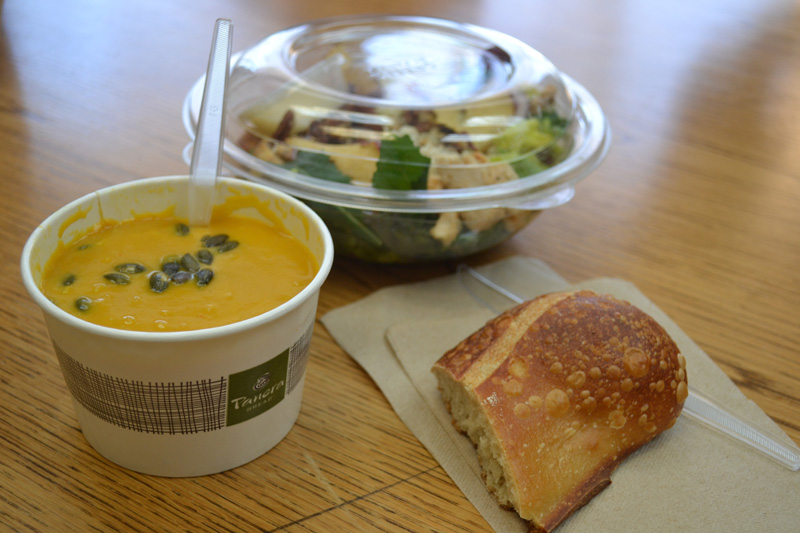 Soup's On: FOD Tests 'Self-delivery'