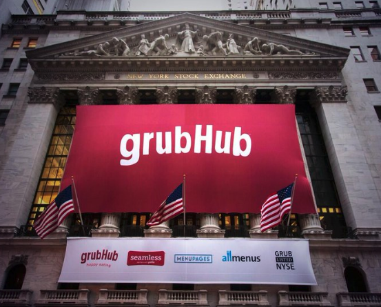 Grubhub Reports Mixed Fourth Quarter Results