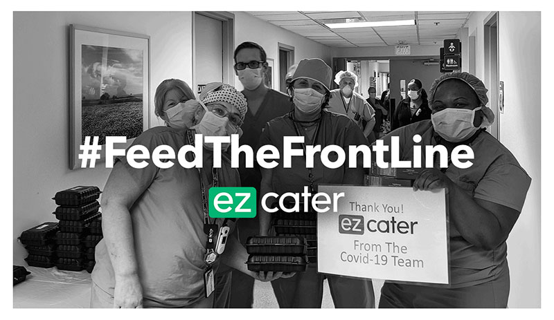 ezCater's 'Feed the Front Line' Sends 20,000 Meals to Hospitals