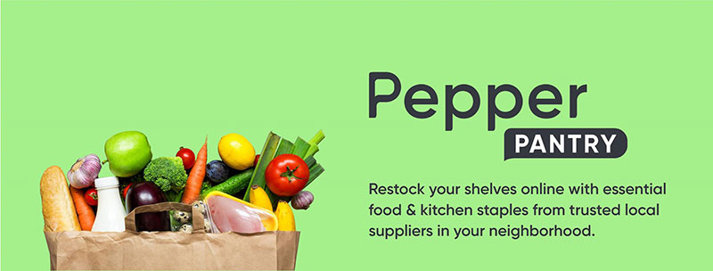 Pepper For Restaurants Pivots to Consumers' Pantries