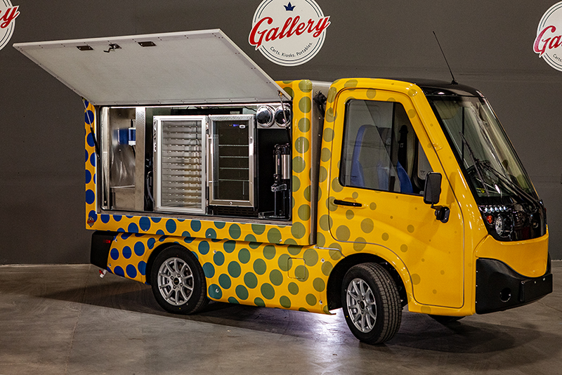 Building the Midpoint Between Food Trucks and Delivery Pods