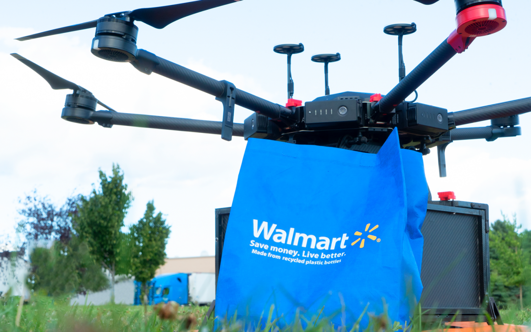 Walmart Pilots Drone Program in N.C. Announces Next Drone Test