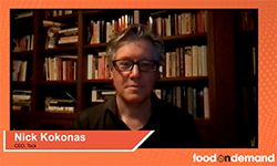 Food On Demand Conference 2020 Keynote Speaker Nick Kokonas CEO Tock