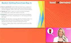 Food On Demand Conference 2020 Franchise Delivery Ops