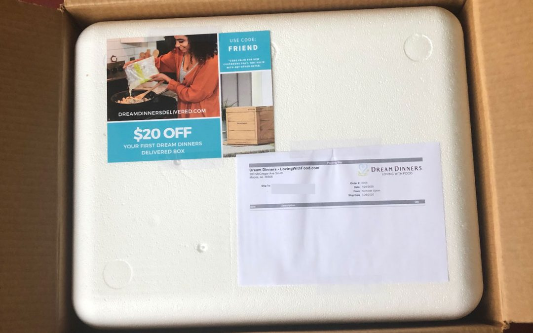 FOD Tests Dream Dinners' Pivot into Meals-by-Mail