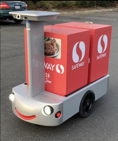 Albertsons Launches Pilot of RC Delivery Cart