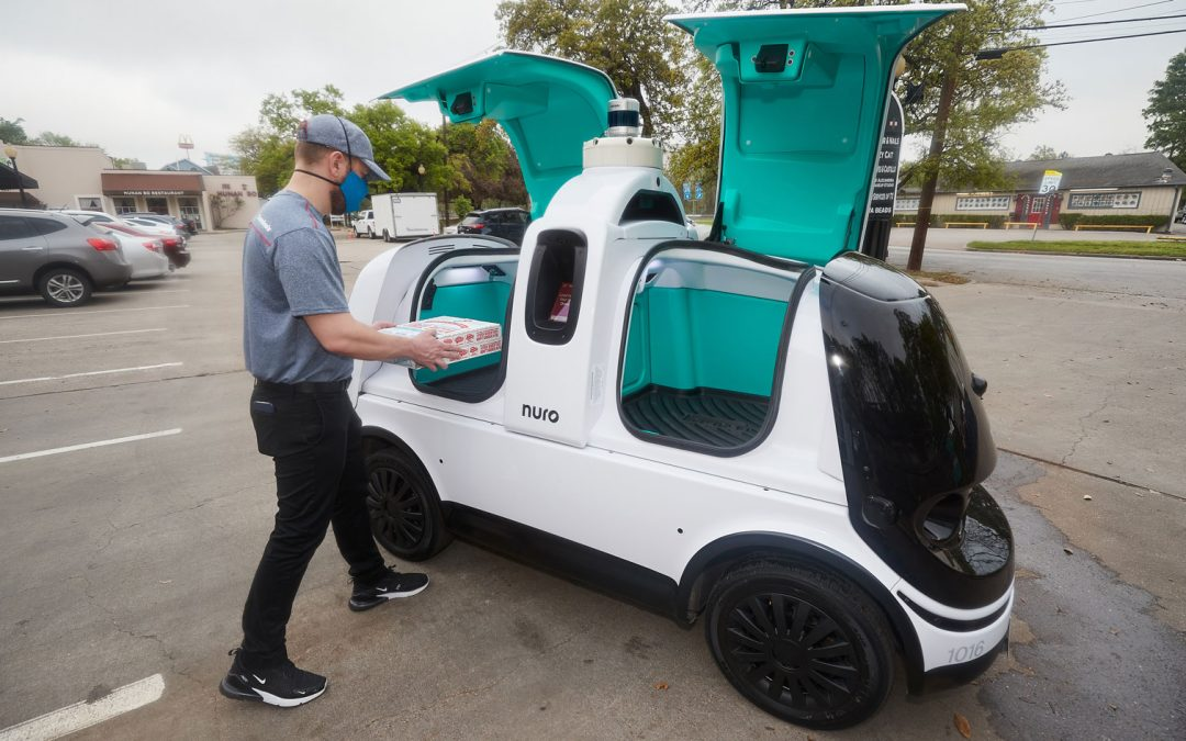 Domino's Officially Begins Automated-Delivery Test