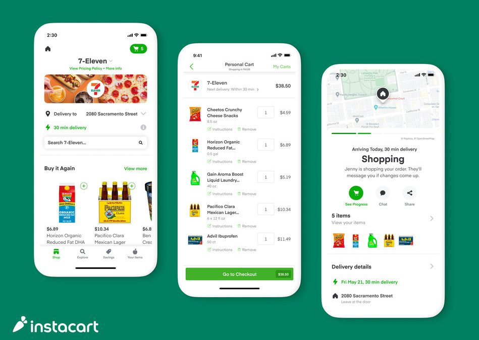 Instacart, 7-Eleven Expand Delivery Partnership