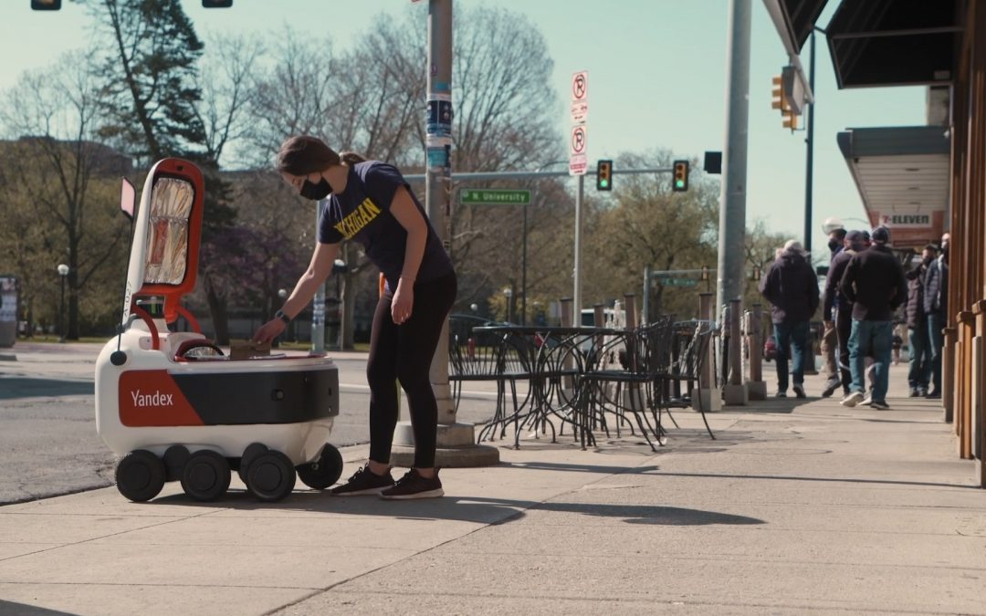 Grubhub Partners with Russia's Yandex on Delivery Robots