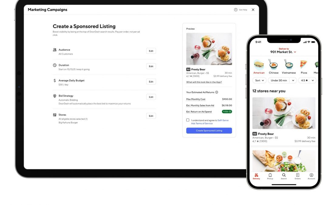 DoorDash Launches $1M Disaster Fund, New Ad Offerings